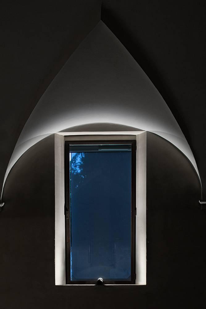 puraluce parete soffitto arco